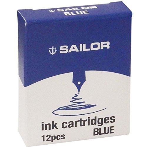 Marinero cartucho de tinta azul