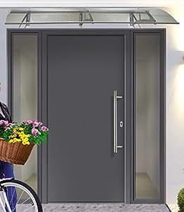 KM MEETH ZAUN GMBH Aluminium-Haustür »A01« Festmaß BxH: 98 x 208 cm, anthrazit links, anthrazit