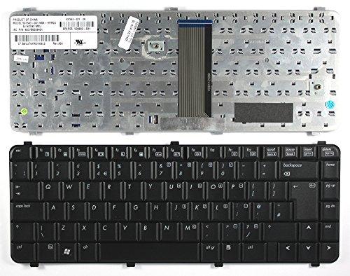 Keyboards4Laptops Compaq Notebook PC 610, Compaq Notebook PC 615, HP 537583-031, HP 539682-031, HP 6037B0038403 Schwarz Vereinigtes Königreich kompatible Ersatz - Tastatur Compaq 610