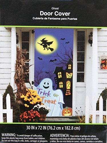 oween Door Cover - Wall Decoration by Walmart ()