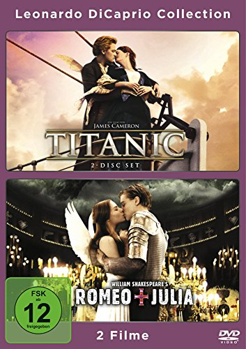 Leonardo Di Caprio Collection Titanic/Romeo & Julia