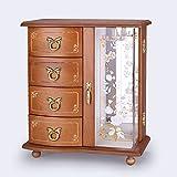 portagioie in legno/ portagioie/Corea europeo vintage gioielli collana organizzatore/ mobili-A