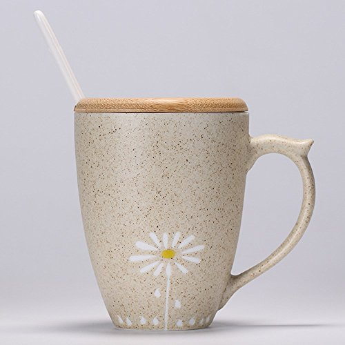 ter Cup Retro Japanische Keramik Becher Mit Deckel Von Kaffeetassen Personalisierte Creative Frosted Becher Paare Tasse Trinken Wasser Tassen D (Personalisierte Tassen Trinken)