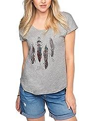 edc by Esprit 076cc1k062, T-Shirt Femme