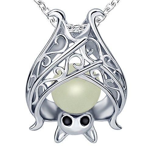 Halskette mit Silber-Anhänger