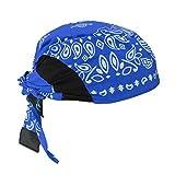 Radians RCS308 Arctic Skull Cooling Headshade, Blue Paisley by Radians, Inc.