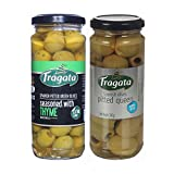 #6: Fragata Pitted Queen Olives 340g and Thyme Olives 330g (Combo Pack)-Olives for Pizzas and salads
