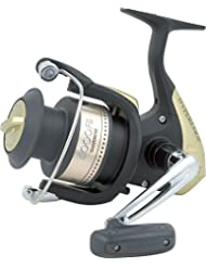 Shimano Hyperloop 4000 FB - Carrete para caña de pescar, color negro y dorado Talla:4000FB