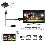 XCSOURCE Airplay HDMI Dongle Wifi DLNA Dongle Miracast Adaptateur Recepteur d'Affichage 1080P HD TV Stick pour iPhone Samsung Smartphone Tablette Andriod iOS PC au HDTV Moniteur Projecteur
