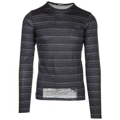 Dior Herren T-Shirt Langarm Langarmshirt Runder Kragen Grau EU L (UK 40) 9H3367520175 (T-shirt Dior Herren)