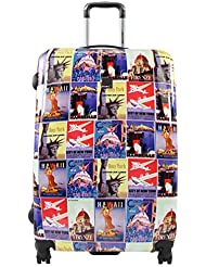 SX BLUE VINTAGE POSTER 71CM 4W TROLLEY ASSORTED