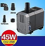 Aquarium Pumpe 7W regulierbare Umwälzpumpe 500l/h
