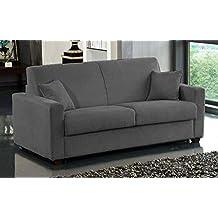 canap convertible 2 places. Black Bedroom Furniture Sets. Home Design Ideas