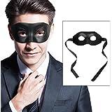 Máscara Negra Hombres Mujeres para Fiesta de Disfraces Halloween Bola de Mascarada Clásica Navidad Mascaras Venecianas para Adultos