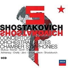 Shostakovich: Orchestral Music & Concertos (9 CDs)