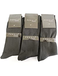 Multipack des chaussettes sobres - Qualité de COOL24 - Lot de 9 paires (80% coton)