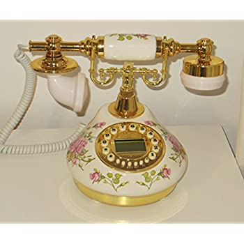 Benross Vintage Style Retro Shabby Blue Retro Telephone Ideal For Home//Office