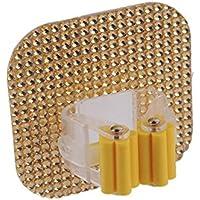 rungao cristal cuadrado con Mop soporte de pared ventosa trapo de escoba fregona rack