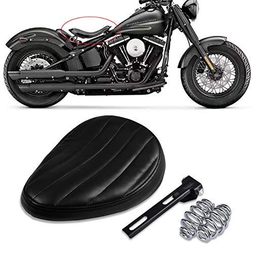 TUINCYN Motorradsitz-Lederkissen-Federhalterungsset (1er Pack)