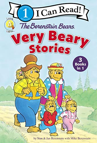 The Berenstain Bears Very Beary Stories: 3 Books in 1 (Berenstain Bears/Living Lights) (English Edition)