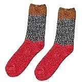 YWLINK Damen MäNner Anti Rutsch Baumwoll Socken Dicker FußBodensocken Teppich Socken Haussocken Schlafende Socken
