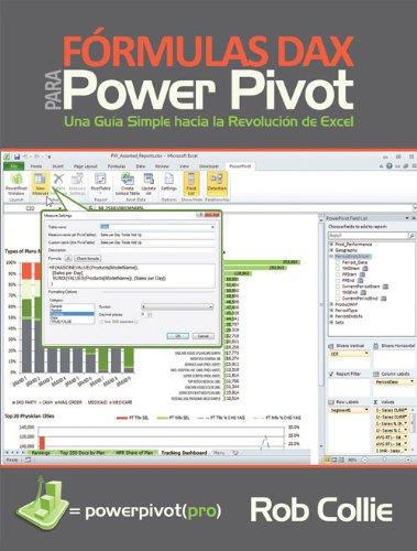 Formulas DAX para PowerPivot: Una guia simple hacia la revolucion de Excel por Rob Collie