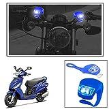 #7: Vheelocityin 2+2 Led Blue Bike Light with Flashing Mode Motorcycle LED For Hero Motocorp Maestro Edge
