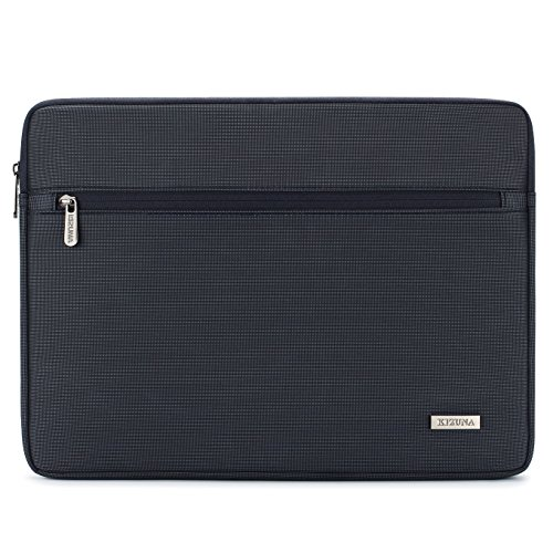 "KIZUNA Laptoptasche Laptop Hülle Tasche 12.5 Zoll Sleeve Wasserfest Stoßfest Aktentasche Schutzhülle für 2017 Neu 13"" MacBook Pro/12.9"" iPad Pro/13.9"" Huawei MateBook X Pro/Lenovo Yoga 720, Marine"