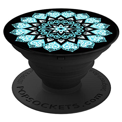 *PopSockets: Ausziehbarer Sockel und Griff für Smartphones und Tablets – Peace Mandala Sky*
