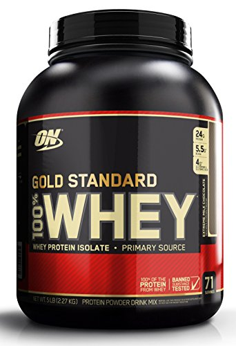 Optimum Nutrition Gold Standard 100% Whey 2273 g Milk Chocolate Protein Shake Powder Test
