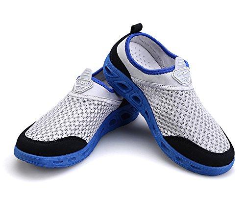 Gaatpot Donna Mesh Traspirante Scarpe da Ginnastica Sportive Running Sneakers Grigio Blu