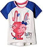 #7: Mothercare Baby Girls' T-Shirt (H9354_White_18-24 M)