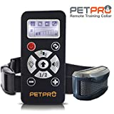 PetPro Remote Dog Training Collar With Automatic Anti Bark Control, 800 Yards Range