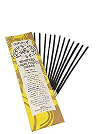Omved Manipura Chakra Incense for solar plexus chakra, Pure, Natural, 100% Non toxic, No synthetic fragrance, Premium, No contain Charcoal