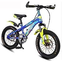 0118c8b8e5914b Bicicletta da Bambino 7-10 Anni Old Mountain Bike 18 Pollici Double Disc  Brake Bicicletta