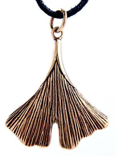 ginkgoblatt-anhnger-aus-bronze-mit-baumwollband