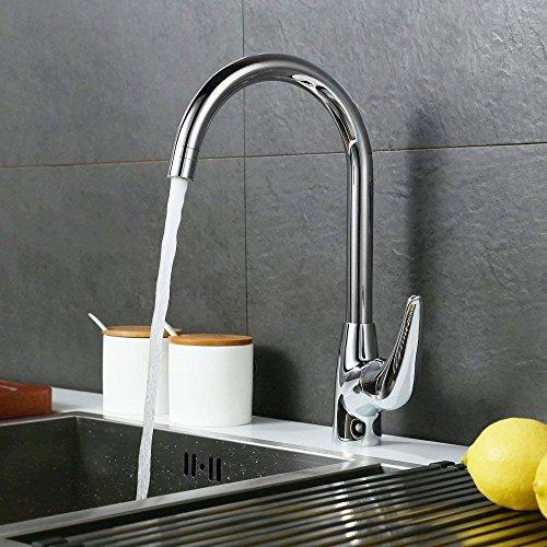 Desfau: 360 Grad drehbare Küchenarmatur