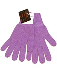 Lovarzi Kaschmir Damenhandschuhe - Winterhandschuhe für Frauen - super weich, warm und aus 100 % purem Kaschmir, hergestellt in Schottland