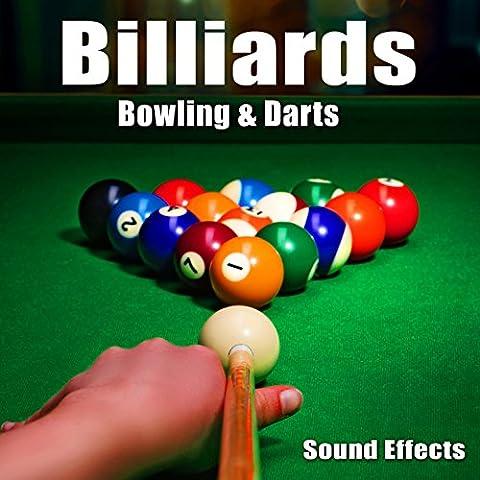 Billiards Stick Dropped onto Pool Table Take 1