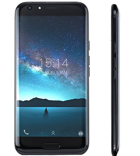 DOOGEE BL5000 - smartphone da 5,5 pollici FHD Android 7.0 4G (batteria 5050mAh), fotocamere triple (8MP + 13MP + 13MP), MTK6750T Octa Core 4GB RAM 64GB ROM, carica Quck - Nero