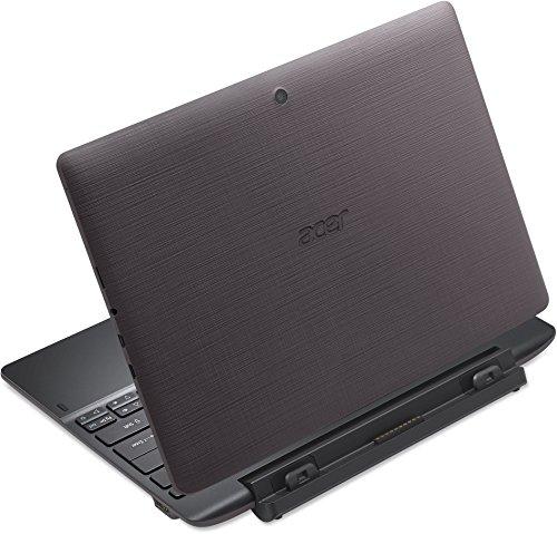 Acer Aspire Switch 10 E Pro7 2in1 Entertainment Edition NT.G8VEG.004 25,6 cm (10,1 Zoll HD IPS) Convertible Notebook (Intel Atom x5-Z8300, 4GB RAM, 64GB eMMC, Intel HD Grafik, Win 10 Home) grau -
