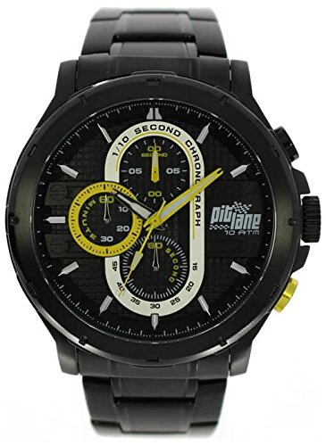 Pit Lane Reloj con movimiento Miyota Man PL-1015-4 45 mm