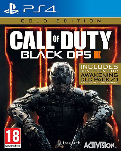 Call of Duty Black OPS 3 Gold Edition (Sony PS4) (Call Of Duty Für Das Spiel 3)