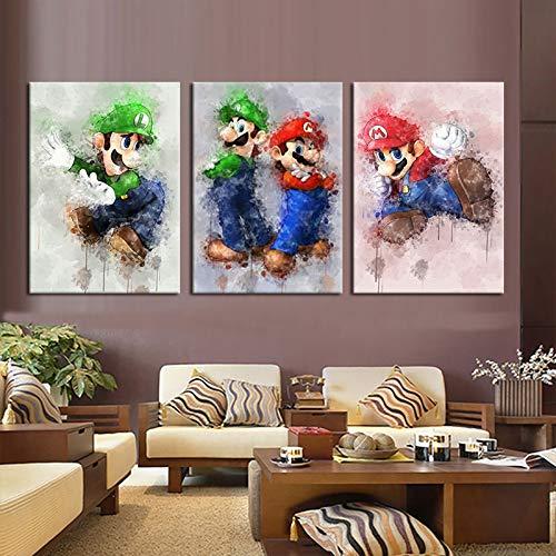 Super Mario Passt - ksjdjok Spiel Poster Super Mario Bros