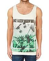 O'neill Mens Off White Paradise Photo Vest