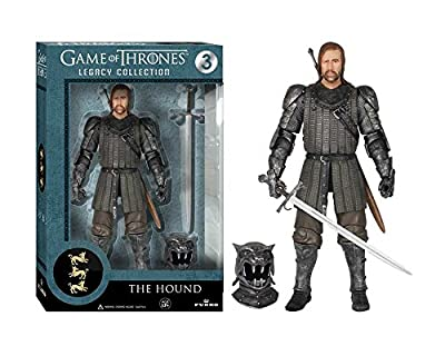 Game of Thrones Toy - The Hound Deluxe Collectable Action Figure - Sandor Clegane