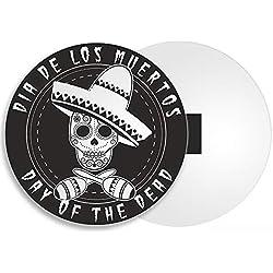 DestinationVinyl Dia De Los Muertos imán para Nevera – Día de los Muertos, Calavera de azúcar, Regalo de México # 4237