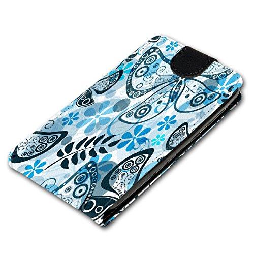 Vertikal Flip Style Handy Tasche Case Schutz Hülle Schale Motiv Etui Karte Halter für Apple iPhone 5 / 5S - Variante VER34 Design7 Design 7