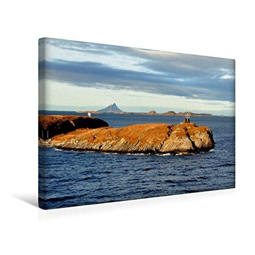 Preisvergleich Produktbild Premium Textil-Leinwand 45 cm x 30 cm quer, Überquerung des Polarkreises | Wandbild, Bild auf Keilrahmen, Fertigbild auf echter Leinwand, Leinwanddruck (CALVENDO Orte)