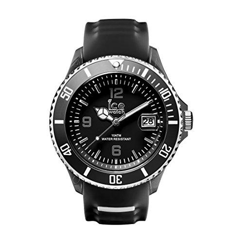 Ice-Watch - ICE sporty Black White - Reloj nero para Hombre con Correa de silicona - 014613 (Extra Large)
